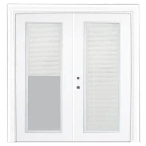 stanley doors 60 in x 80 in steel patio door with
