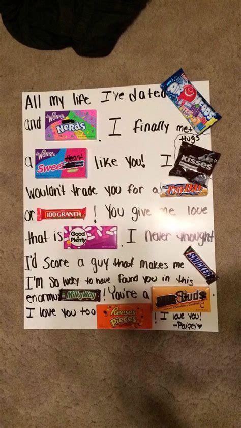 cute boyfriend gift ideas    super easy