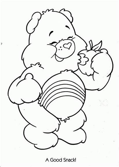 Coloring Care Bears Kolorowanki Misie Kolorowanka Troskliwe