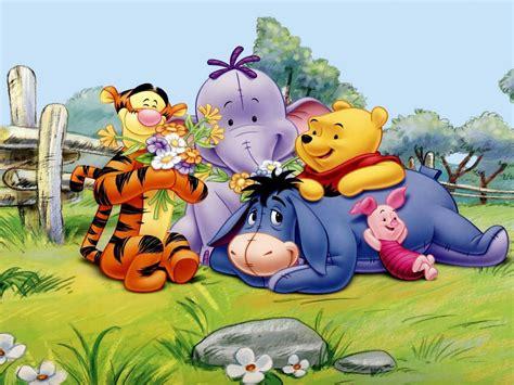 winnie  pooh tigger eeyore piglet  elephant spring