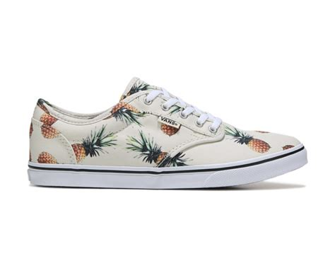vans atwood  skate shoe pineapple