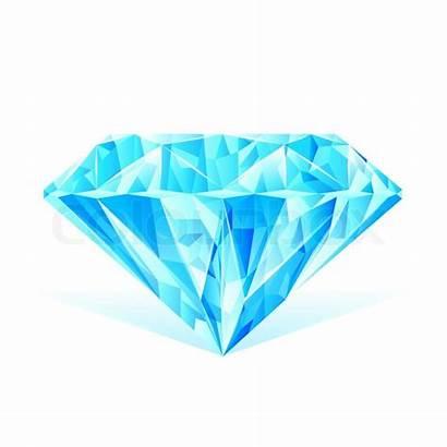 Diamond Crystal Clipart Vector Illustration Clear Clip
