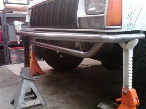 homemade jeep bumper plans diy front rear tube bumpers jeep cherokee forum