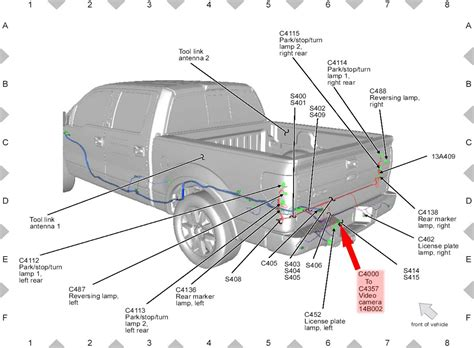 2006 Ford F 250 Backup Light Wiring Diagram by Ford F150 F250 Install Rearview Backup How To