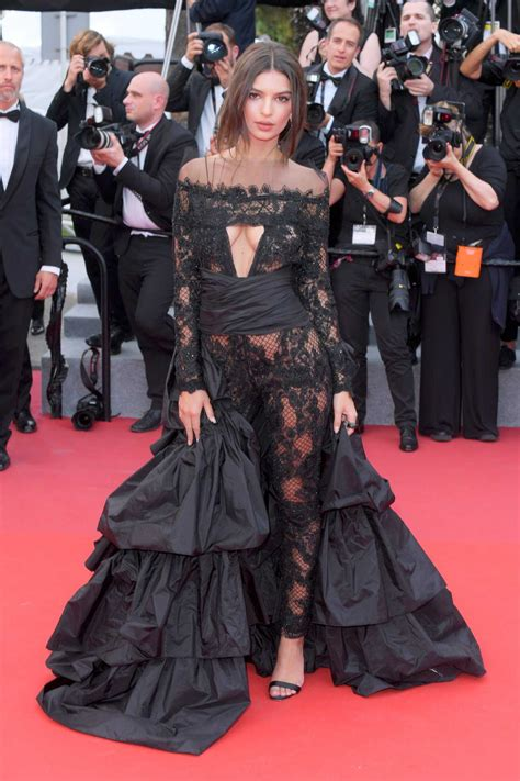 Emily Ratajkowski at the Premiere of Loveless in Cannes ...