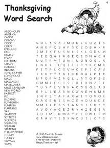 thanksgiving printable activities top 10 word search for