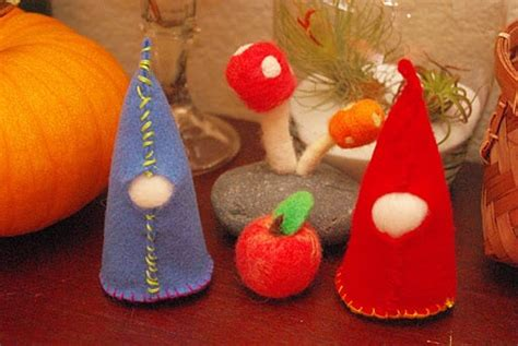 sewing projects felt gnomes happiness  homemade
