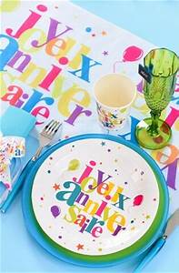 Chemin De Table Anniversaire : chemin de table joyeux anniversaire festif x1 ref 5136 ~ Melissatoandfro.com Idées de Décoration