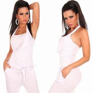 Combinaison Femme Noir Et Blanc : combinaison femme fashion blanc ~ Melissatoandfro.com Idées de Décoration