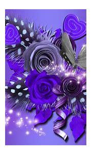 Purple Flowers and Butterflies 4k Ultra HD Wallpaper ...