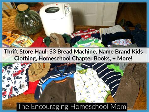 Thrift Store Haul $3 Bread Machine, Name Brand Kids