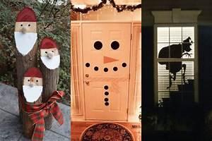 decoraciones para navidad para casa puertas ventanas y