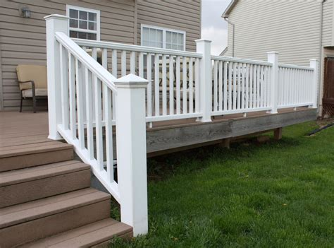 How To Install Vinyl Deck Railing