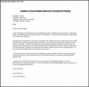 Customer service email cover letter sample pdf template for Customer service message template