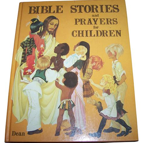a vintage childrens book bible stories and prayers for 244 | 002112.1L
