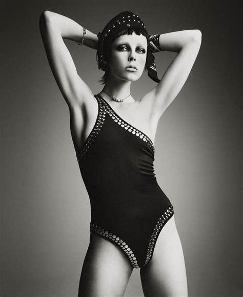 Edie Campbell by Patrick Demarchelier for Interview May ...