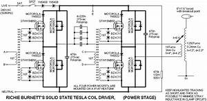 solid state tesla coil project tl494 pwm high voltage With mosfets the ir2110 mosfet driver integrated circuit was chosen