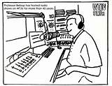 Coloring Radio Wtju Quarantined Ages sketch template