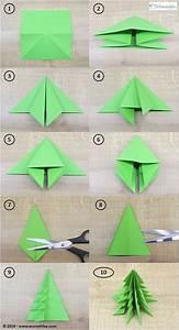 Tannenbaum Selber Basteln : die besten 25 origami weihnachten ideen auf pinterest weihnachten origami ~ Yasmunasinghe.com Haus und Dekorationen