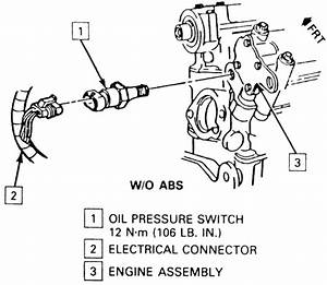 repair guides sending units and sensors oil pressure With silverado abs brake line diagram on oil pressure switch harness