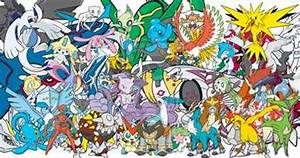 all legendary pokemon wallpaper