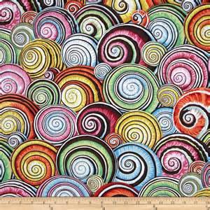 designer fabrics kaffe fassett spiral shells multi discount designer fabric fabric