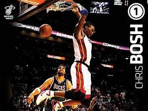 Chris Bosh Miami Heat Dunk HD Wall Wallpapers - HD Wall ...