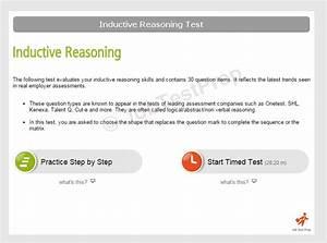 Inductive Reasoning Test Prep