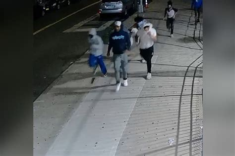 police search  masked suspects  quadruple brooklyn