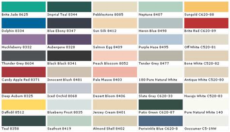 high quality behr exterior paint color chart  behr paint color chart newsonairorg