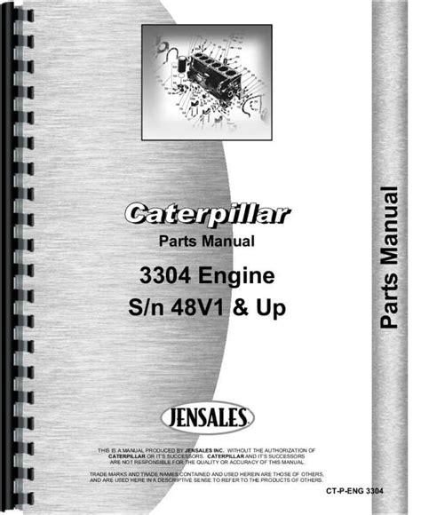 caterpillar  traxcavator engine parts manual