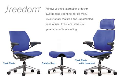 humanscale freedom home office chair ergonomic seating