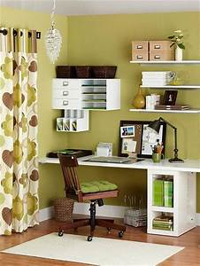 50, Best, Small, Space, Office, Decorating, Ideas, On, A, Budget