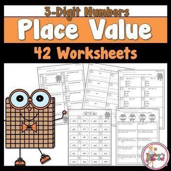 digit place  worksheets  images place