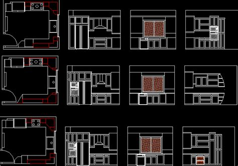 Kitchen 2d Dwg Block For Autocad • Designs Cad