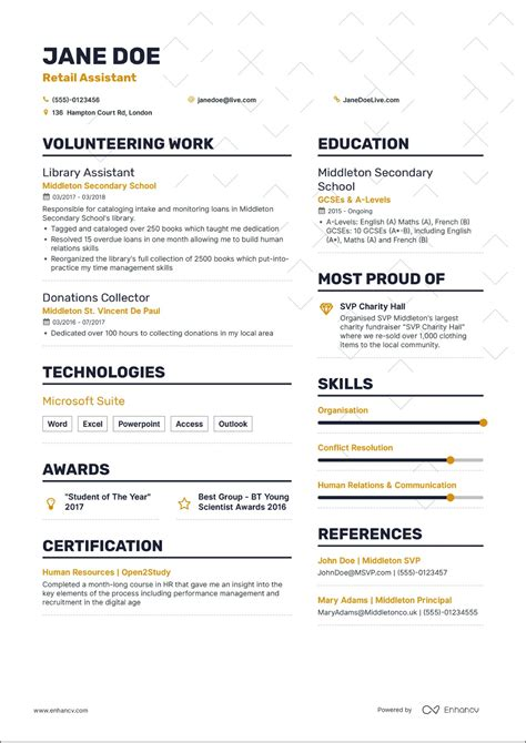 How To Cv by How To Write A Cv Without Experience What Career