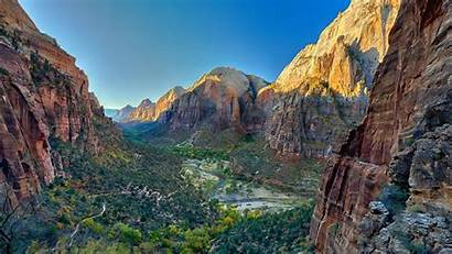 Zion Utah National Park Usa Nature Landscape