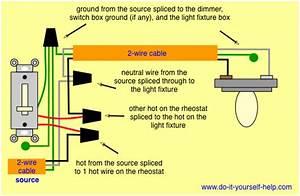 Leviton 6b42 Dimmer Wiring Diagram