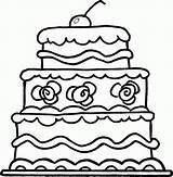 Cake Coloring Clipart Birthday Clip Outline Elegant Drawing Clipartpanda Marriage Clipartmag Printable Factory Graphics Modern Ice Cream Cartoon Popular Presentations sketch template