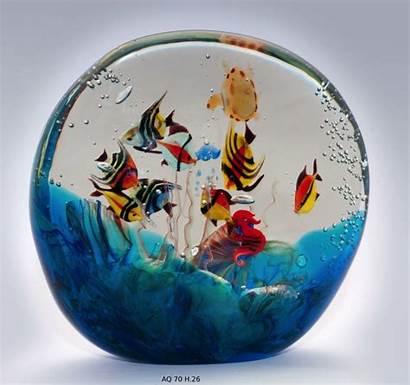 Murano Venetian Aquarium Handmade Glass Aquariums Works