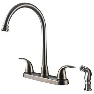 kitchen faucets single handle vantage collection single handle kitchen faucet with side spray ultra faucets