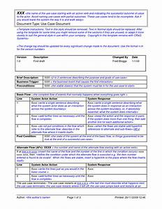 Magnificent use case narrative template image collection for Use case narrative template doc