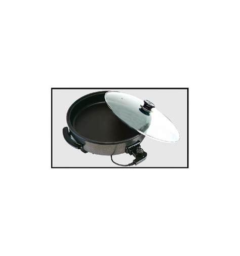 poele electrique cuisine poêle électrique 42x9cm 1500w