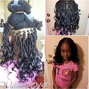 Kids Box braids with pony hair.   The hair styles i've ...