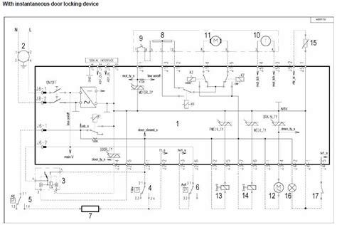 aeg electrolux washing machine wiring diagram service manual circuit schematic schema repair