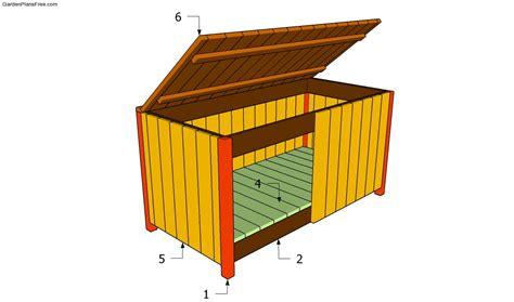 pdf wood garden storage box plans plans free
