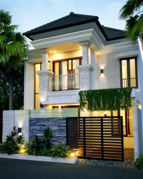 desain rumah mewah lantai style villa bali modern jakarta