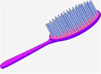 Brush Combs Clipart Transparent Comb Cartoon Hand