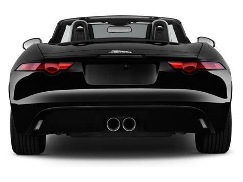 2014 Jaguar F-type 2-door Convertible V6 Rear