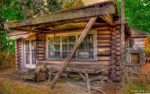 Free Log Cabin Wallpapers